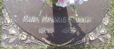 MILLER, MINA MAZZIE - Maricopa County, Arizona | MINA MAZZIE MILLER - Arizona Gravestone Photos