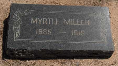 MILLER, MYRTLE - Maricopa County, Arizona | MYRTLE MILLER - Arizona Gravestone Photos