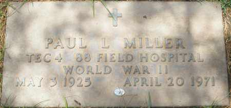 MILLER, PAUL L. - Maricopa County, Arizona   PAUL L. MILLER - Arizona Gravestone Photos