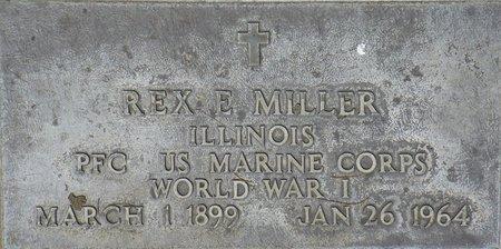 MILLER, REX E - Maricopa County, Arizona | REX E MILLER - Arizona Gravestone Photos