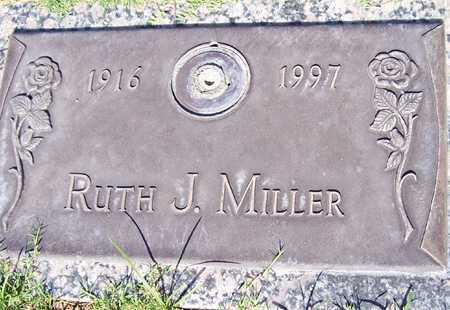 MILLER, RUTH J. - Maricopa County, Arizona | RUTH J. MILLER - Arizona Gravestone Photos