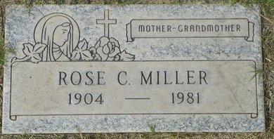 MILLER, ROSE C - Maricopa County, Arizona | ROSE C MILLER - Arizona Gravestone Photos