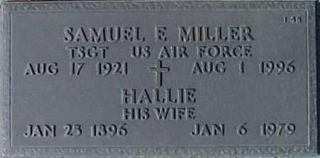 MILLER, HALLIE - Maricopa County, Arizona | HALLIE MILLER - Arizona Gravestone Photos