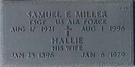 MILLER, HALLIE - Maricopa County, Arizona | HALLIE MILLER - Arizona Gravestone Photos