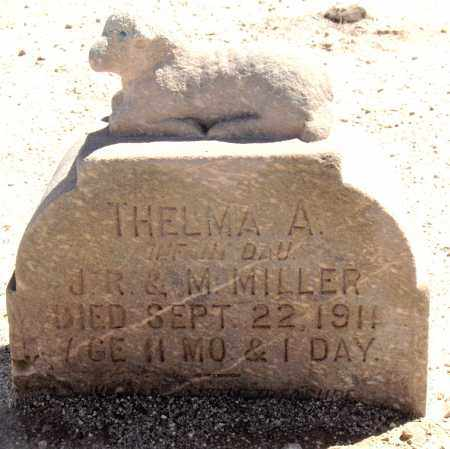 MILLER, THELMA A. - Maricopa County, Arizona | THELMA A. MILLER - Arizona Gravestone Photos