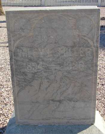 MILLER, WILEY L. - Maricopa County, Arizona | WILEY L. MILLER - Arizona Gravestone Photos