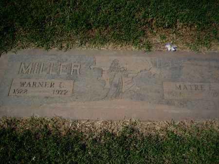 TAYLOR MILLER, WARNER C. & MATRE E. - Maricopa County, Arizona | WARNER C. & MATRE E. TAYLOR MILLER - Arizona Gravestone Photos