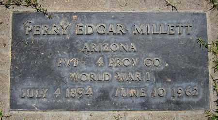 MILLETT, PERRY EDGAR - Maricopa County, Arizona | PERRY EDGAR MILLETT - Arizona Gravestone Photos