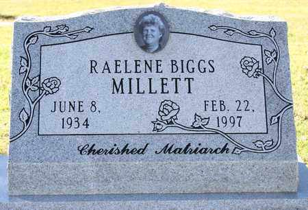 BIGGS MILLETT, RAELENE - Maricopa County, Arizona | RAELENE BIGGS MILLETT - Arizona Gravestone Photos