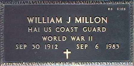 MILLON, WILLIAM J. - Maricopa County, Arizona | WILLIAM J. MILLON - Arizona Gravestone Photos