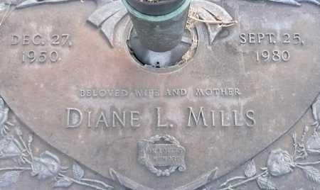 MILLS, DIANE L. - Maricopa County, Arizona | DIANE L. MILLS - Arizona Gravestone Photos