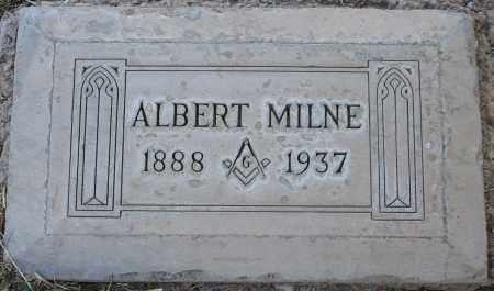 MILNE, ALBERT - Maricopa County, Arizona | ALBERT MILNE - Arizona Gravestone Photos