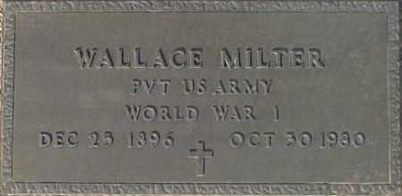 MILTER, WALLACE - Maricopa County, Arizona   WALLACE MILTER - Arizona Gravestone Photos