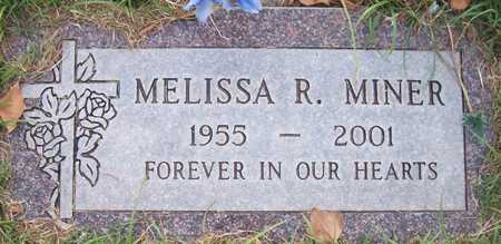 MINER, MELISSA R. - Maricopa County, Arizona   MELISSA R. MINER - Arizona Gravestone Photos