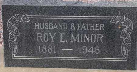 MINOR, ROY E. - Maricopa County, Arizona | ROY E. MINOR - Arizona Gravestone Photos