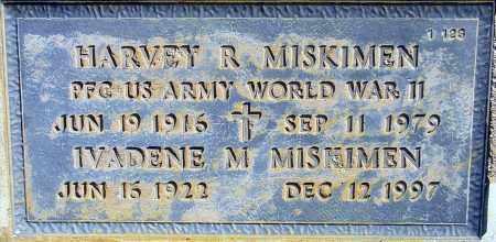 MISKIMEN, HARVEY R. - Maricopa County, Arizona | HARVEY R. MISKIMEN - Arizona Gravestone Photos