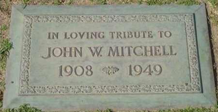 MITCHELL, JOHN W. - Maricopa County, Arizona | JOHN W. MITCHELL - Arizona Gravestone Photos