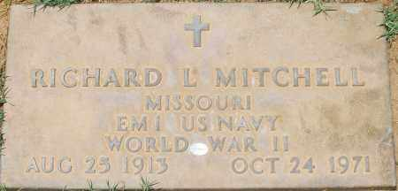 MITCHELL, RICHARD L. - Maricopa County, Arizona | RICHARD L. MITCHELL - Arizona Gravestone Photos