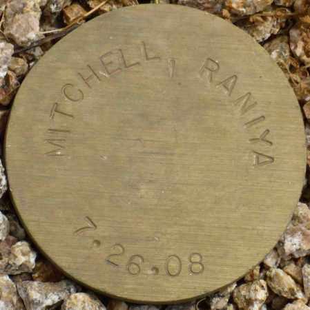 MITCHELL, RANIYA - Maricopa County, Arizona | RANIYA MITCHELL - Arizona Gravestone Photos