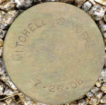 MITCHELL, SINCERE - Maricopa County, Arizona   SINCERE MITCHELL - Arizona Gravestone Photos
