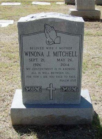 MITCHELL, WINONA JEAN - Maricopa County, Arizona | WINONA JEAN MITCHELL - Arizona Gravestone Photos