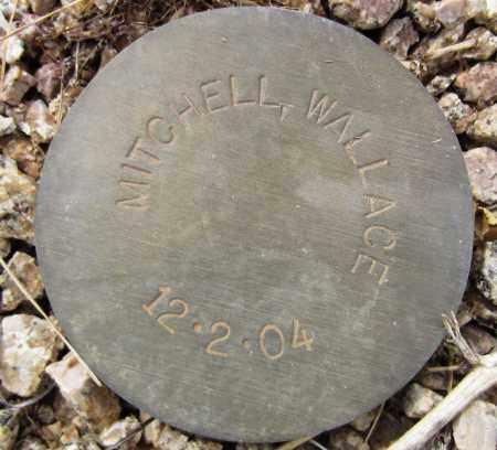 MITCHELL, WALLACE - Maricopa County, Arizona | WALLACE MITCHELL - Arizona Gravestone Photos