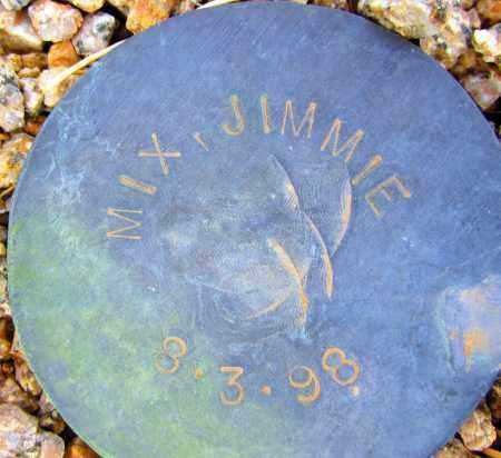 MIX, JIMMIE - Maricopa County, Arizona   JIMMIE MIX - Arizona Gravestone Photos