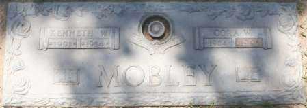 MOBLEY, KENNETH W. - Maricopa County, Arizona | KENNETH W. MOBLEY - Arizona Gravestone Photos