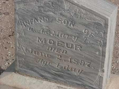 MOEUR, INFANT BOY - Maricopa County, Arizona   INFANT BOY MOEUR - Arizona Gravestone Photos