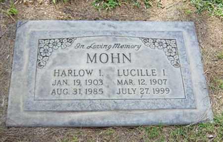 MOHN, HARLOW I. - Maricopa County, Arizona | HARLOW I. MOHN - Arizona Gravestone Photos