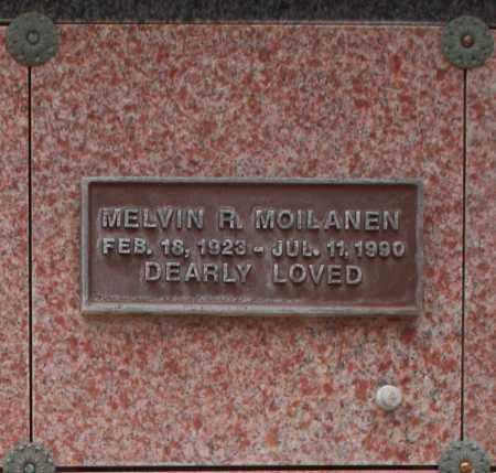 MOILANEN, MELVIN R. - Maricopa County, Arizona | MELVIN R. MOILANEN - Arizona Gravestone Photos