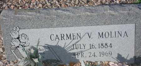 MOLINA, CARMEN V. - Maricopa County, Arizona | CARMEN V. MOLINA - Arizona Gravestone Photos