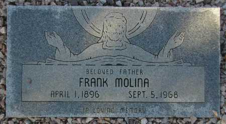 MOLINA, FRANK - Maricopa County, Arizona | FRANK MOLINA - Arizona Gravestone Photos