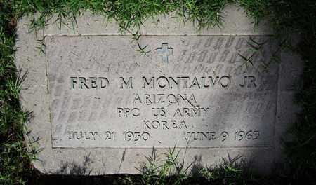 MONTALVO, FRED M., JR. - Maricopa County, Arizona | FRED M., JR. MONTALVO - Arizona Gravestone Photos