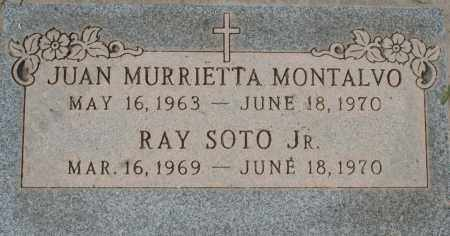 MONTALVO, JUAN MURRIETTA - Maricopa County, Arizona | JUAN MURRIETTA MONTALVO - Arizona Gravestone Photos