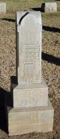 GREENHAW MONTGOMERY, ALABAMA R. - Maricopa County, Arizona   ALABAMA R. GREENHAW MONTGOMERY - Arizona Gravestone Photos