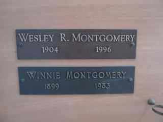 MONTGOMERY, WINNIE - Maricopa County, Arizona | WINNIE MONTGOMERY - Arizona Gravestone Photos