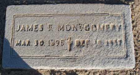 MONTGOMRAY, JAMES F. - Maricopa County, Arizona   JAMES F. MONTGOMRAY - Arizona Gravestone Photos