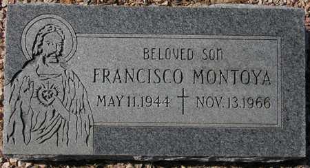 MONTOYA, FRANCISCO - Maricopa County, Arizona | FRANCISCO MONTOYA - Arizona Gravestone Photos