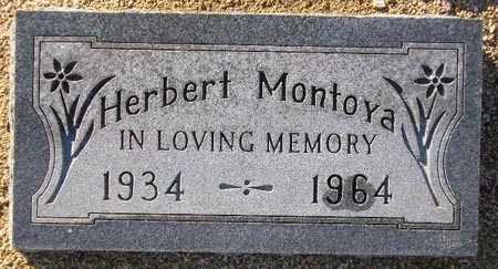 MONTOYA, HERBERT - Maricopa County, Arizona | HERBERT MONTOYA - Arizona Gravestone Photos