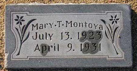 MONTOYA, MARY T. - Maricopa County, Arizona | MARY T. MONTOYA - Arizona Gravestone Photos