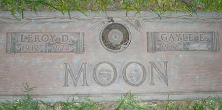 MOON, LEROY D. - Maricopa County, Arizona | LEROY D. MOON - Arizona Gravestone Photos