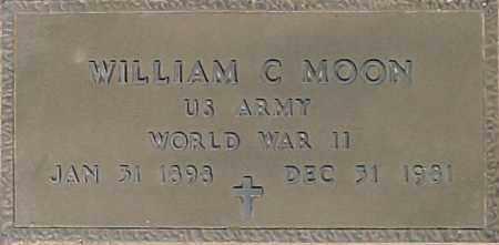 MOON, WILLIAM C - Maricopa County, Arizona | WILLIAM C MOON - Arizona Gravestone Photos