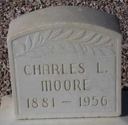 MOORE, CHARLES L. - Maricopa County, Arizona   CHARLES L. MOORE - Arizona Gravestone Photos