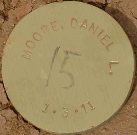 MOORE, DANIEL L. - Maricopa County, Arizona   DANIEL L. MOORE - Arizona Gravestone Photos