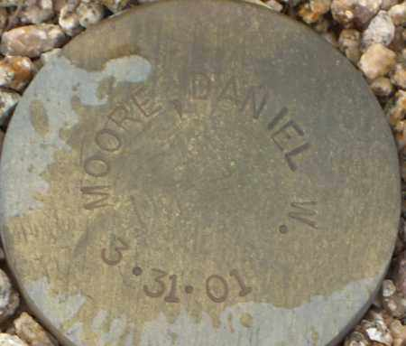 MOORE, DANIEL W. - Maricopa County, Arizona | DANIEL W. MOORE - Arizona Gravestone Photos