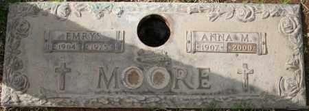 MOORE, ANNA M - Maricopa County, Arizona | ANNA M MOORE - Arizona Gravestone Photos