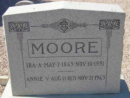 MOORE, ANNIE V. - Maricopa County, Arizona   ANNIE V. MOORE - Arizona Gravestone Photos