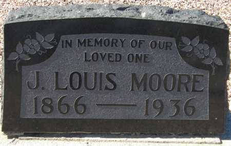 MOORE, J. LOUIS - Maricopa County, Arizona | J. LOUIS MOORE - Arizona Gravestone Photos