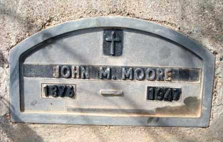 MOORE, JOHN MALON (POP) - Maricopa County, Arizona | JOHN MALON (POP) MOORE - Arizona Gravestone Photos